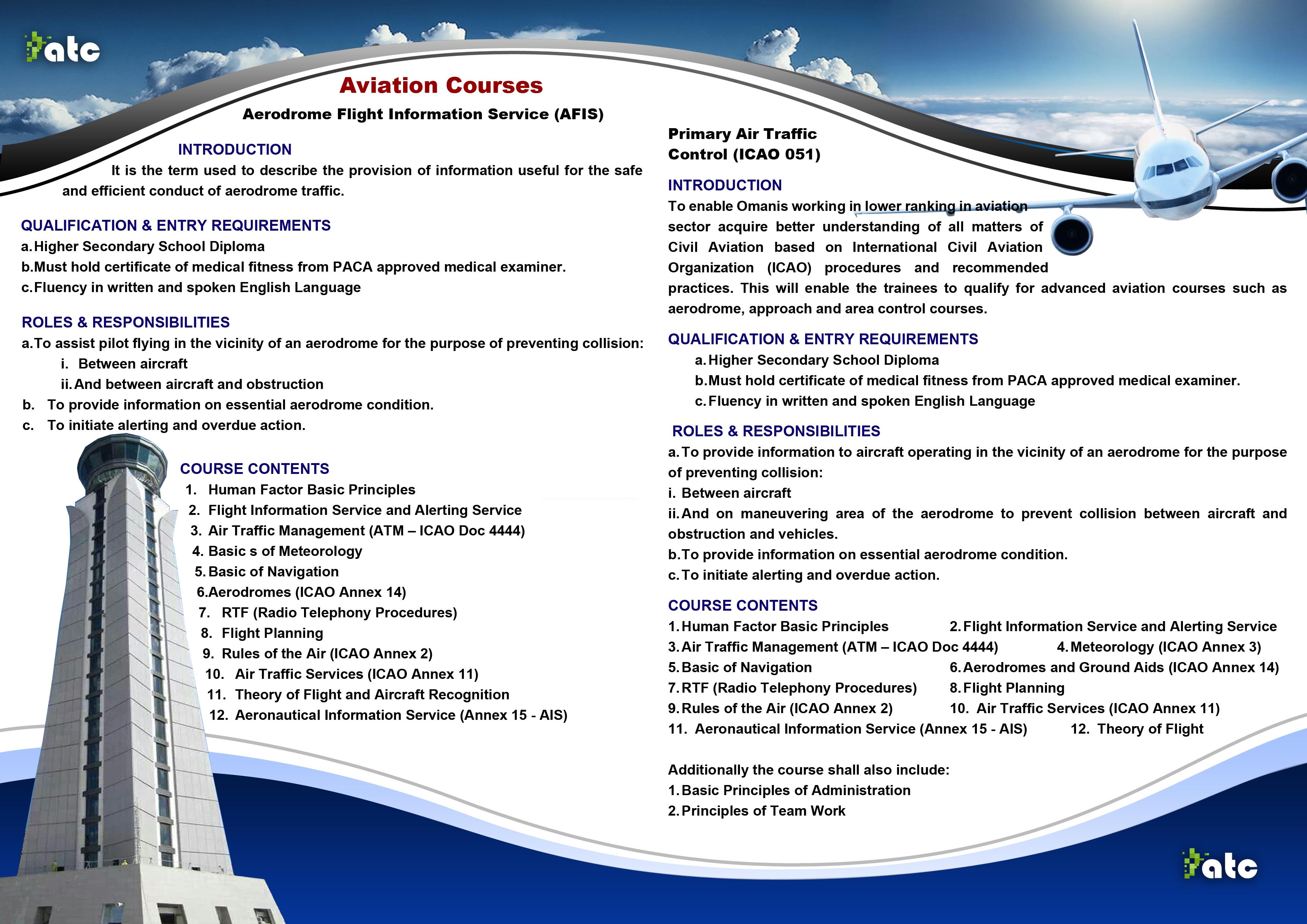 ATC Oman | Courses Details